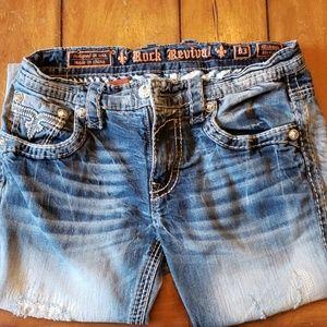 Rock Revival Mikael Straight Denim Jeans